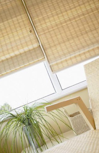 Wood Weave Blinds